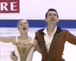 アレクサ・シメカ&クリス・クニエリム 四大陸選手権2016 フリー演技 (解説:イギリス英語)