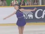 紀平梨花 アジアフィギュア杯2015 ショート演技 (ホームビデオ撮影)