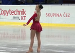 加藤利緒菜 JGPチェコスケート2013 フリー演技 (解説:なし)