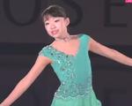 紀平梨花 NHK杯2015 エキシビション演技 (解説:イギリス英語・ロシア語)