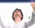 ジョシュア・ファリス NHK杯2014 フリー演技 (解説:ロシア語・イギリス英語)