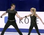 アレクサ・シメカ&クリス・クニエリム 四大陸選手権2016 ショート演技 (解説:イギリス英語)