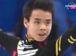 ナム・グエン 世界選手権2014 ショート演技 (解説:イギリス英語・ロシア語)