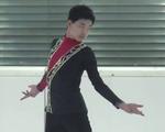 路韵达[ロ・インタチ] JGPオーストリア杯2015 フリー演技 (解説:英語)