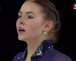 アンジェリーナ・クフワルスカ スケートアメリカ2016 フリー演技 (解説:ロシア語)