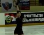 ユリア・リプニツカヤ ロシア杯ファイナル2016 ショート演技 (解説:なし)