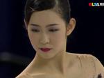 今井遥 スケートアメリカ2015 ショート演技 (解説:ロシア語・中国語)