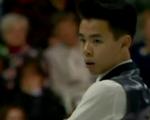 ナム・グエン カナダ選手権2015 ショート演技 (解説:カナダ英語)