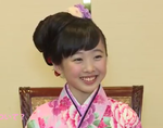 本田望結、姉・真凜は「ずっと憧れ」 新年晴れ着インタビュー (2016/1/1)