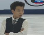 ナム・グエン 中国杯2014 ショート演技 (解説:ロシア語)