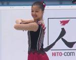 ショクサナム・トクヒロワ JGPチェコスケート2014 ショート演技 (解説:英語)