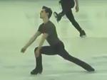 ジョシュア・ファリス 世界選手権2015・公式練習 (2015/3/24)