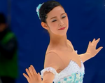 今井遥 全日本選手権2014 フリー演技 (解説:日本語)