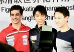 世界選手権2015 男子シングルSP後記者会見 (2015/3/27)