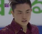閻涵[エン・カン] スケートカナダ2016 ショート演技 (解説:ロシア語・中国語)