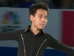 ナム・グエン スケートアメリカ2014 エキシビション演技 (解説:イギリス英語・日本語)