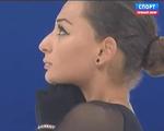エレーネ・ゲデヴァニシヴィリ 世界選手権2015 ショート演技 (解説:ロシア語)