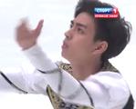 マイケル・クリスチャン・マルティネス 中国杯2015 フリー演技 (解説:ロシア語・イギリス英語)