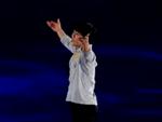 キム・ジンソ 四大陸選手権2015 エキシビション演技 (ホームビデオ撮影)