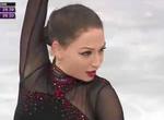 エレーネ・ゲデヴァニシヴィリ 欧州選手権2014 ショート演技 (解説:スペイン語・日本語)