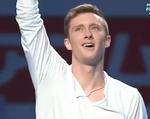 ジェレミー・アボット 世界選手権2014 エキシビション演技 (解説:イギリス英語)