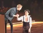 ステファン・ランビエール Art on Ice 2015チューリッヒ公演 (ホームビデオ撮影)