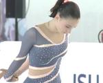 クリスティーナ・シュクレタ=グロモワ JGPログローニョ2015 フリー演技 (解説:英語)