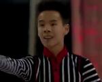 ナム・グエン カナダ選手権2015 フリー演技 (解説:カナダ英語)