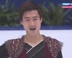 宋楠[ソウ・ナン] 中国杯2015 フリー演技 (解説:ロシア語・中国語・イギリス英語)