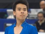 ナム・グエン 世界選手権2014 フリー演技 (解説:イギリス英語)