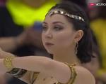 エリザベータ・トゥクタミシェワ スケートカナダ2016 フリー演技 (解説:イギリス英語・ロシア)