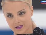 キーラ・コルピ 世界選手権2015 ショート演技 (解説:ロシア語・イタリア語)