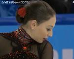 エレーネ・ゲデヴァニシヴィリ ソチオリンピック ショート演技 (解説:日本語)