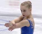 ヴィヴェカ・リンドフォース 欧州選手権2016 ショート演技 (解説:ロシア語)