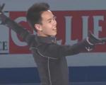 ナム・グエン 世界選手権2015 エキシビション演技 (解説:ロシア語)
