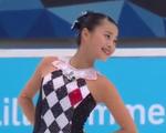 白岩優奈 冬季ユースオリンピック2016 フリー演技 (解説:英語・ロシア語)