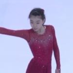 紀平梨花 ジュニアグランプリファイナル2016 公式練習 (2016/12/8)