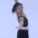 坂本花織 ジュニアグランプリファイナル2016 公式練習 (2016/12/8)