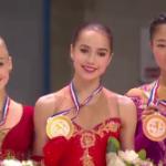 ジュニアグランプリファイナル2016 女子シングル表彰式 (解説:なし)