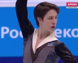 アンドレイ・ラゾキン ロシア選手権2016 フリー演技