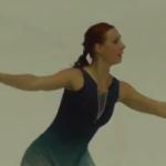 アレーナ・レオノワ ゴールデンスピン2016 フリー演技 (解説:なし)