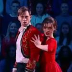 アデリーナ・ソトニコワ ロシアTV番組でマラゲーニャを踊る (2016/12/17)