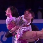 川口悠子&アレクサンドル・スミルノフ ロシア選手権2016 エキシビション演技 (解説:ロシア語)