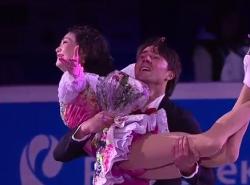川口悠子&アレクサンドル・スミルノフ ロシア選手権2016