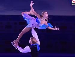 クリスティーナ・アスタホワ&アレクセイ・ロゴノフ ロシア選手権2016