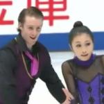 小野眞琳&ウェスリー・キリング 全日本選手権2016 フリー演技 (解説:日本語)