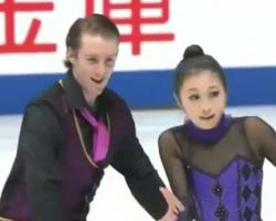 小野眞琳&ウェスリー・キリング 全日本選手権2016