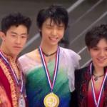 グランプリファイナル2016 男子シングル表彰式 (解説:なし)