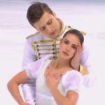 ナタリア・ザビアコ&アレクサンドル・エンベルト グランプリファイナル2016 ショート演技 (解説:ロシア語・イギリス英語)