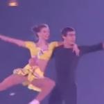アナ・ドゥシュコヴァー&マルティン・ビダジュ ジュニアグランプリファイナル2016 エキシビション演技 (解説:ロシア語・中国語)